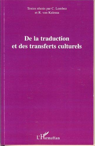 De la traduction et des transferts culturels