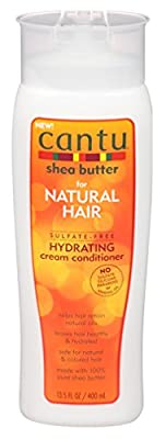 Cantu Natural Hair Conditioner Hydrating (Sulfate-Free)13.5 Ounce (399ml) (3 Pack) by Cantu
