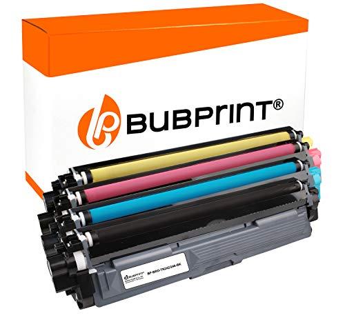 Bubprint 4 Toner kompatibel für Brother TN-242 TN-246 HL-3142CW MFC-9142CDN MFC-9332CDW DCP-9022CDW HL-3172CDW MFC-9342CDW HL-3152CDW DCP-9017CDWG1