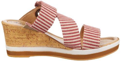 Tamaris 1-1-27209-20, Mules femme Multicolore (Red Comb 597)