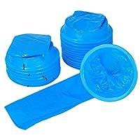 Healifty 20PCS Emesis Vomit Bags Travel Barf Bags Emergency Sick Emesis Bag 1000ml (Blue)