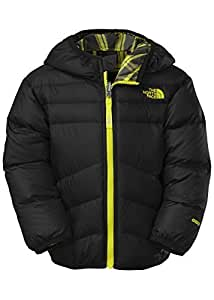 The North Face Little Boys Toddler Reversible Moondoggy Jacket (TNF Black)-2T by The North Face