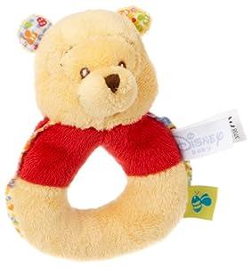 Joy Toy Disney 700699-Winnie The Pooh Baby, Winnie como Anillo Sonajero 10cm