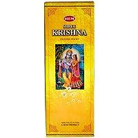 Shree Krishna–Box von sechs 20Gramm Röhren (120Sticks)–HEM Räucherstäbchen preisvergleich bei billige-tabletten.eu