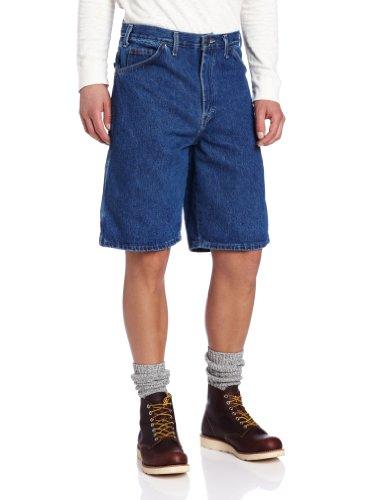 Dickies, DX200, pantaloni da lavoro, corti, 27,9cm Délavé blu indaco