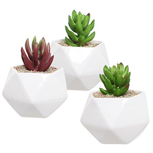 mygift-lot-de-3-pots-en-ceramique-design-geometrique-blanc-plante-supports-pour-plantes-dinterieur-m