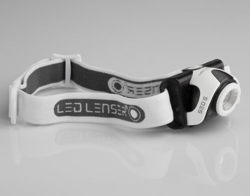 LED LENSER® SEO 5 grey, LED Stirnlampe, 180 Lumen Lichtleistung