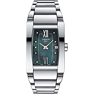 Tissot Stock Reloj Analógico para Mujer de Cuarzo con Correa en Acero Inoxidable T1053091112600
