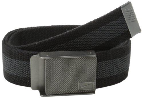 Nike Golf Herren Nike Gummi Einlage Reversible Web Gr. One size, Schwarz (Cap Reversible Nike)