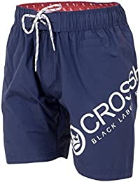 Crosshatch Men's Makins CH Side/Back Print SWM Shorts