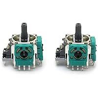 Merssavo 2x 3D Joystick Achsen Analog Sensormodul Ersatz für XBOX ONE wireless controller