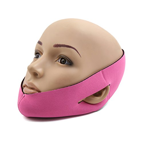 sourcingmap Masque mousse Forme visage Ligne visage joue Levage forme bande femme