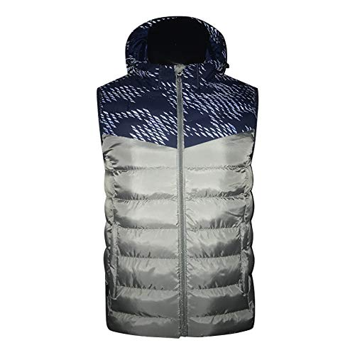 DZX Men's Electric Vest/Heating Vest/Intelligent Warm Jacket,With USB Cable – For Outdoor Travel Racing Sports Bike…