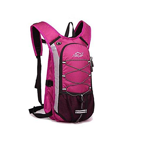 Wmshpeds Multi-funzionale zaino di equitazione maschio mountain bike bag ragazza acqua traspirante borsa casual di luce piccola borsa a tracolla C