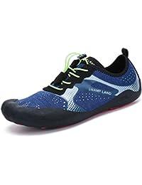 Unisex - Erwachsene Wanderhalbschuhe Trekking Gummi Sohle Sportlich Metall Dämpfung Entspannt Warm Schnürschuhe Grau 39 EU sekZwXGoLI