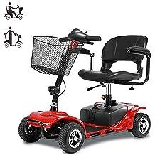 A-new Scooter Eléctrico De Cuatro Ruedas para Adultos/Discapacitados, Plegable/Ligero