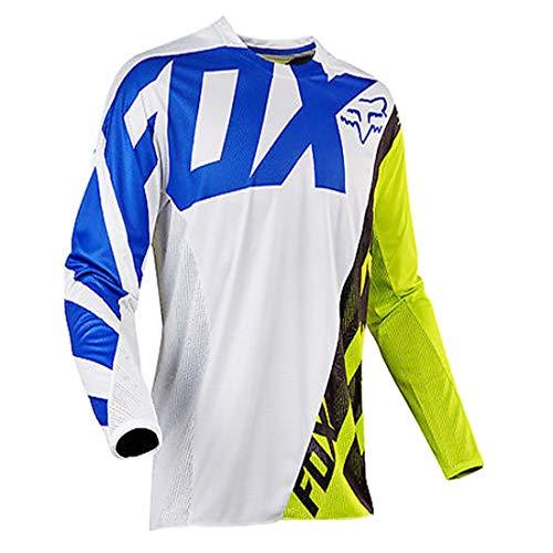 YSYFZ MTB-Trikot Outdoor-Radsport Fahrrad Reitanzug Langarm-Shirt Mountainbike Offroad-Mot