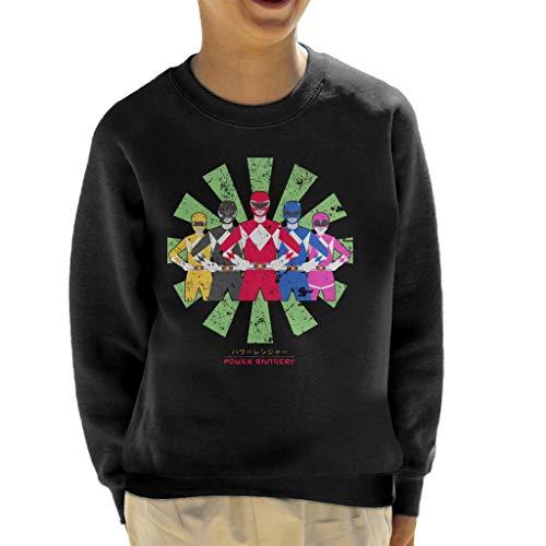 Power Rangers Retro Japanese Kid's Sweatshirt