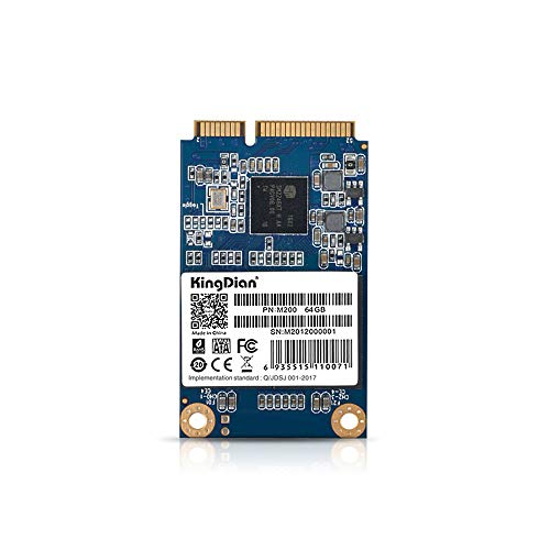 Docooler KingDian SSD M-SATA3 Interface M200 64 Go de Disque Dur Interne pour Ordinateur de Bureau