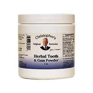 Christopher's Original Formula, Herbal Tooth and Gum Powder, 2 oz