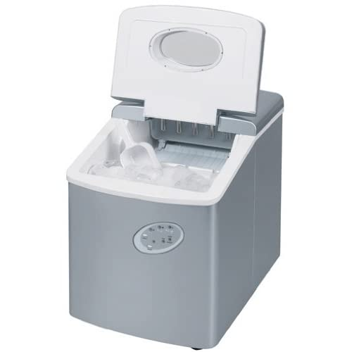 41Ljc NifxL. SS500  - Ice Maker Machine For Your Home - Counter Top Ice Machine - New Compact Model - No Plumbing Required - 15kg Ice In 24 Hours by ThinkGizmos (Trademark Protected)