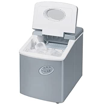 Ice Maker Machine - Counter Top Ice Machine - New Compact Model - No Plumbing Required - 15kg Ice In 24 Hours by ThinkGizmos (Trademark Protected)