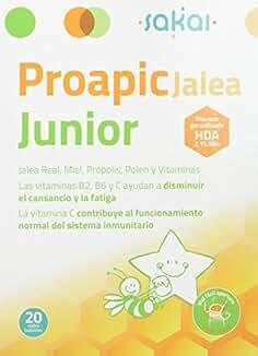 SAKAI PROAPIC JALEA JUNIOR 20 Viales 10 ml