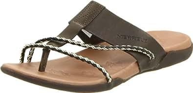 Merrell J89356, Chaussures de Plage & Piscine Femme - Vert - Olive, 41 EU
