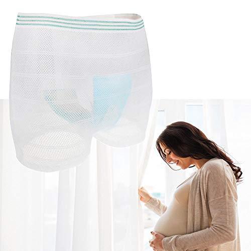 5 STÜCKE Inkontinenz Briefs Waschbar Hosen Reise Höschen Höschen für Mann oder Frauen Mesh Postpartale Unterwäsche für Schwangerschaft, Inkontinenz(X-Large) - Für Inkontinenz-unterwäsche Männer