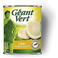 Géant Vert Fonds d'artichaut La boîte de 400g - Prix Unitaire - Livraison Gratuit Sous 3 Jours