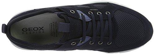 Geox U Snapish B, Sneakers Basses Homme Bleu (Navyc4002)
