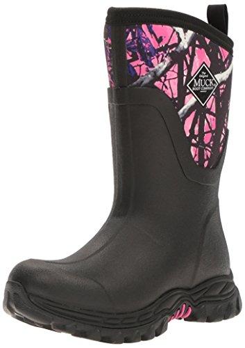 Muck Boots Arctic Sport II Mid, Bottes et Bottines de Pluie Femme Noir (Black/ Muddy Girl)