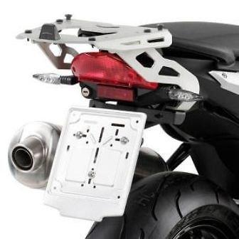 Givi Support Top Case Monokey Valise BMW K1200R (05>08)/K1300R (09>15), Aluminium