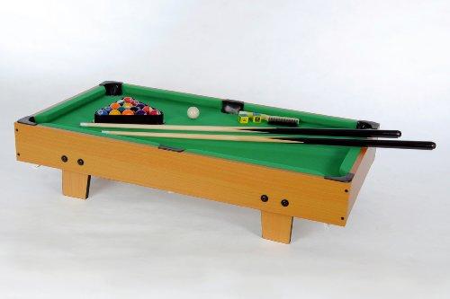 Mini Billardtisch GamePoint, Grün Größe ca. 92x52x20 cm