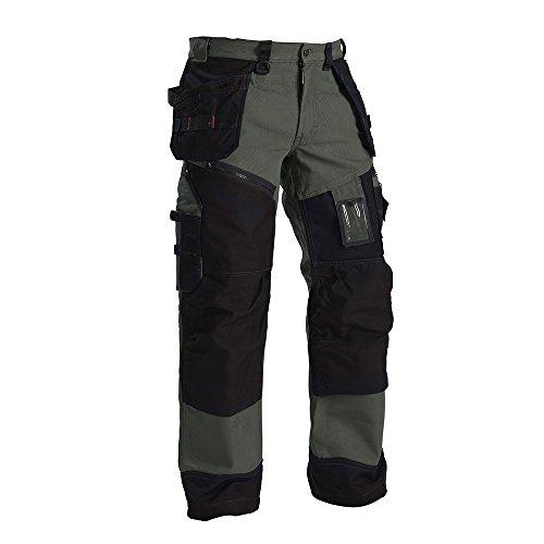 """Blåkläder Workwear Herren Bundhose Handwerker """"X1500"""", 1 Stück,  , Gr. D96 , grün/schwarz"""