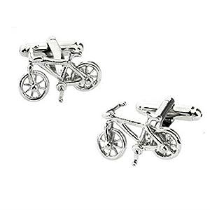 Hosaire 1 Paar Mode Fahrrad Manschettenknöpfe Herren Männer Geschäft Cufflinks Hochzeit Hemd Krawattenklammer Deko Manschettenknopf