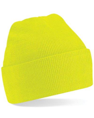 Beechfield -  Berretto in maglia  - Uomo Fluoresent Yellow