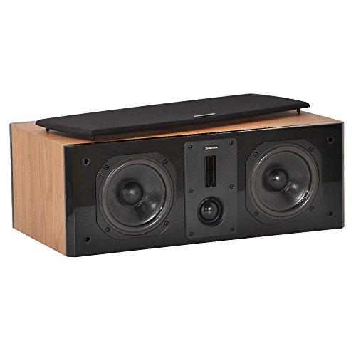Dynavoice Definition DC-5 Quercia - Diffusore Acustico Centrale a 2 Vie Bass Reflex per Hi-Fi e Home Cinema. Cabinet in legno MDF con frontale laccato lucido. Tweeter doppio a nastro + cupola e Woofer in Kevlar. Sistema X-Change per regolazione db