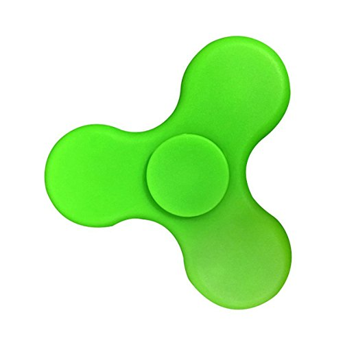 Preisvergleich Produktbild Fidget Spinner LED Tri Kreisel High-Speed Kugellager mit Bluetooth und Lautsprecher Anti-Stress Hand Toy Grün von wortek