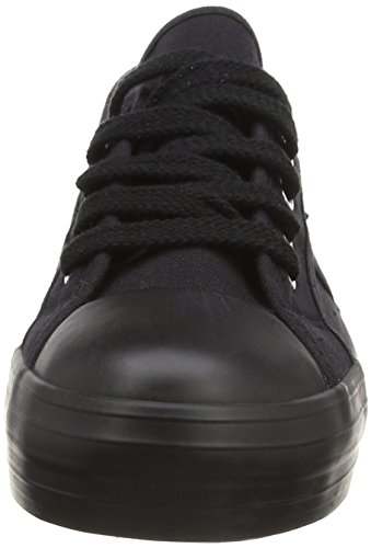 Rocket Dog Damen Magic Sneakers Schwarz (BLACK AA0)