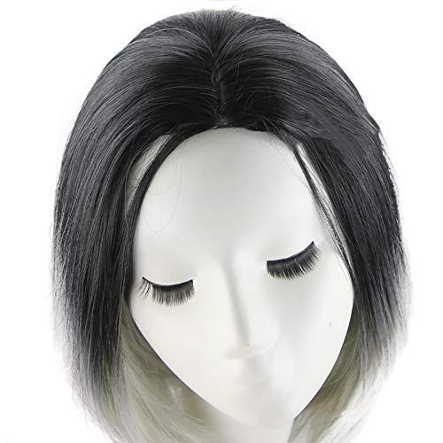 Perruque Femme Courts, SynthéTiques De Cheveux Chaleur Naturelle TêTe Bobo DéGradéE