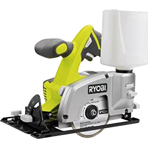 "Advanced Royobi ProGrade LTS180M ONE+ 18v Cordless Circular Tile Saw 102mm / 4"" Blade without Battery or Charger - Requires Separate ONE+ Battery & Charger [Pack of 1] --"