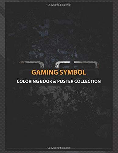 Coloring Book & Poster Collection: Gaming Symbol Ps3 Gaming