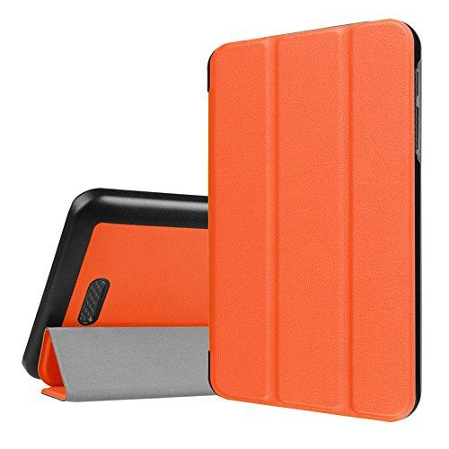 WiTa-Store Tasche für Acer Iconia One 7 B1-780 7.0 Zoll Schutz Hülle Flip Tablet Cover Case (Orange)