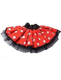 Minnie Mouse Tutu Skirt Fancy Dress Fun Run Hen Party Ladies Girls Children
