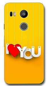 SEI HEI KI Designer Back Cover For LG Nexus 5X - Multicolor