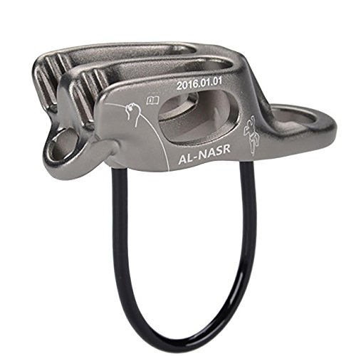al-nasr-multifunction-atc-descender-protector-downhill-retarder-rock-climbing-protection-silver