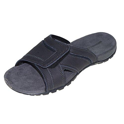 MERRELL Schuhe - Schlappe SANDSPUR PINE - black, Größe:46