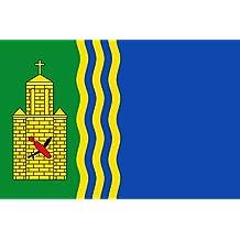magFlags Bandera Large Paño de proporción 2/3, verde en su tercio al asta | bandera paisaje | 1.35qm | 90x150cm