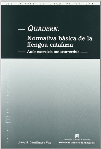Quadern Normativa Basica Llengua Catalana
